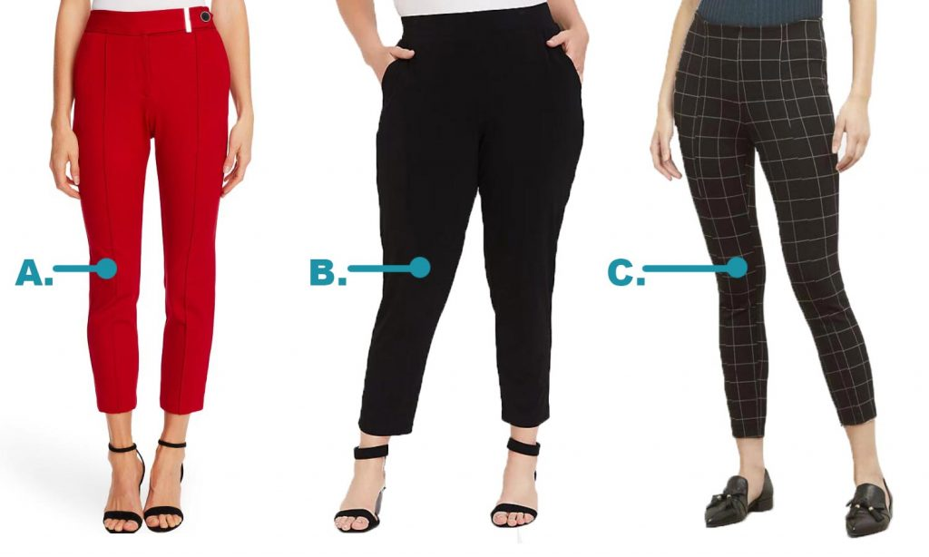 This image has an empty alt attribute; its file name is Womens-pant-choices-business-style-1024x614.jpg